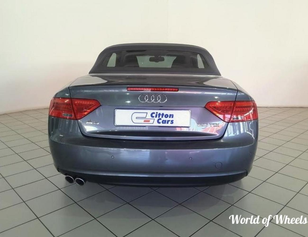 2013 Audi A5 Cabriolet 2.0TDI For Sale